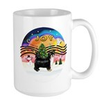 XMusic2-Puff Crested (BT) Large Mug