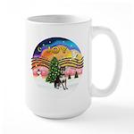 XM2-Chihuahua (bl-cream) Large Mug