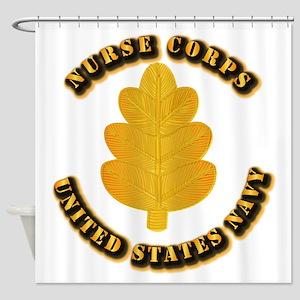 Navy - Nurse Corps Shower Curtain