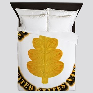 Navy - Nurse Corps Queen Duvet