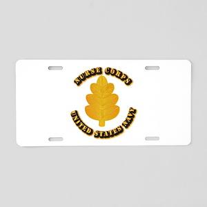 Navy - Nurse Corps Aluminum License Plate