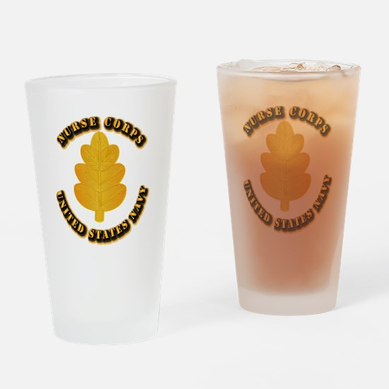 Navy - Nurse Corps Drinking Glass