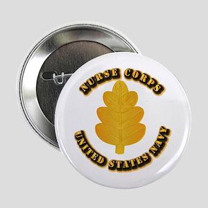 """Navy - Nurse Corps 2.25"""" Button"""