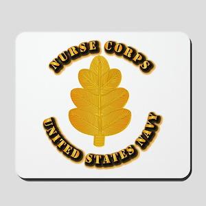 Navy - Nurse Corps Mousepad