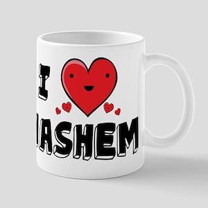 I Love Hashem Mug