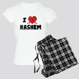 I Love Hashem Women's Light Pajamas