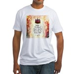 Celebrate Happy Birthday Men's Fitted T-Shirt
