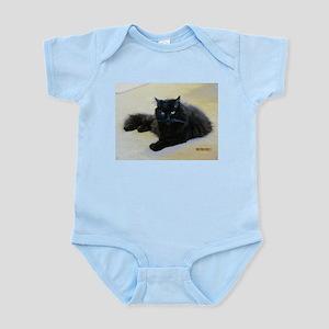 Black cat Infant Bodysuit
