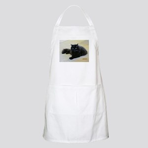 Black cat Apron