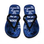 Husband Leader (Blue) Flip Flops