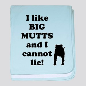 Big Mutts baby blanket