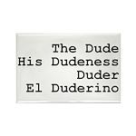 El Duderino Rectangle Magnet (10 pack)