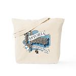 Growing Up Astoria Scroll Tote Bag