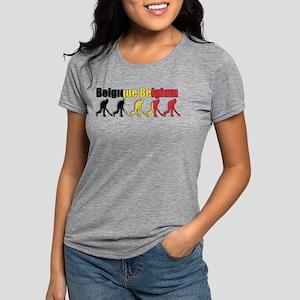 Belgium Field Hockey Womens Tri-blend T-Shirt