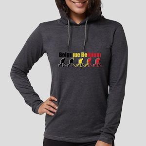 Belgium Field Hockey Womens Hooded Shirt