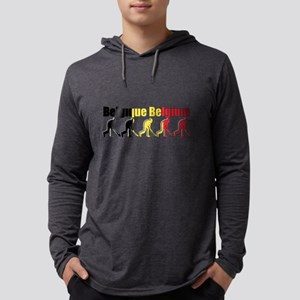 Belgium Field Hockey Mens Hooded Shirt