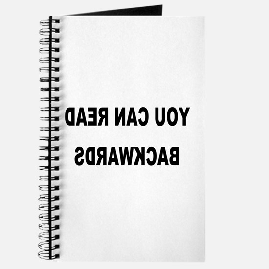 You can read backwards Journal