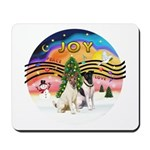 XMusic2-Two Fox Terriers Mousepad