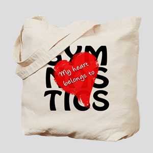 My Heart Belongs to Gymnastics Tote Bag