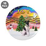 "XMusic2-Fox Terrier (#1) 3.5"" Button (10 pack"