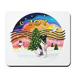 XMusic2-Fox Terrier (#1) Mousepad