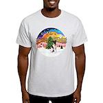 XMusic2-Fox Terrier (#1) Light T-Shirt