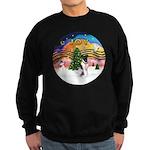 XMusic2-Fox Terrier (#1) Sweatshirt (dark)