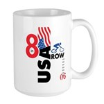 8 in a Row Large Mug