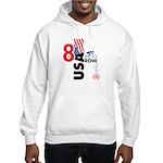 8 in a Row Hooded Sweatshirt