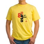 8 in a Row Yellow T-Shirt