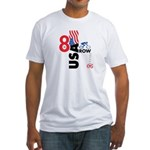 8 in a Row Fitted T-Shirt