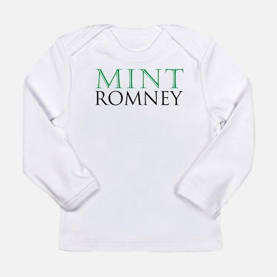 Mint Romney Long Sleeve Infant T-Shirt