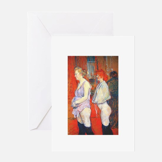 toulouse lautrec Greeting Card