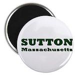 Sutton Massachusetts Name Magnet