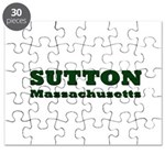 Sutton Massachusetts Name Puzzle
