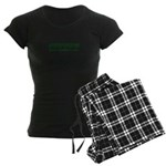 Sutton Massachusetts Name Women's Dark Pajamas
