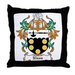 Nixon Coat of Arms Throw Pillow