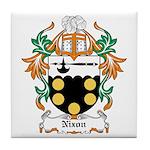 Nixon Coat of Arms Tile Coaster