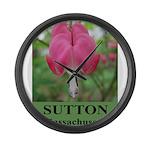 Sutton Massachusetts Large Wall Clock