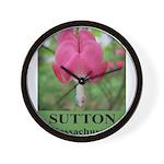 Sutton Massachusetts Wall Clock