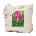 Sutton Massachusetts Tote Bag