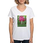 Sutton Massachusetts Women's V-Neck T-Shirt