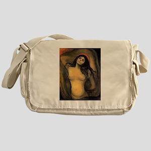edvun munch Messenger Bag