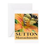 Sutton Massachusetts Butterfly Greeting Card