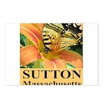 Sutton Massachusetts Butterfly Postcards (Package