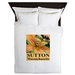 Sutton Massachusetts Butterfly Queen Duvet