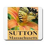Sutton Massachusetts Butterfly Mousepad