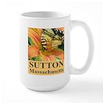 Sutton Massachusetts Butterfly Large Mug
