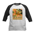 Sutton Massachusetts Butterfly Kids Baseball Jerse