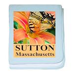 Sutton Massachusetts Butterfly baby blanket